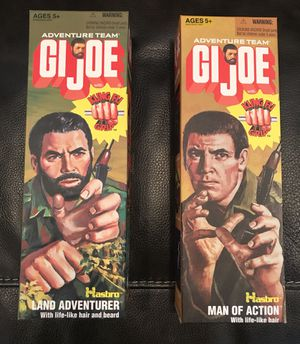 GI Joe collectible Action figures - Adventure Team for Sale in Des Moines, WA
