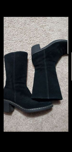 Black Dockers boots size 8. for Sale in Mesquite, TX