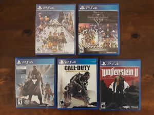 PLAYSTATION 4 GAMES - VARIED PRICES for Sale in Portland, OR