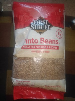 FIRST STREET PINTO BEANS 50 LBS $25.00 for Sale in San Diego, CA