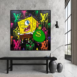 Fashion Art Modern Unique Home Decor Canvas Prints High Quality for Sale in Hollywood,  FL