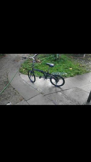 Bc folding 20 in bike rides great for Sale in Modesto, CA