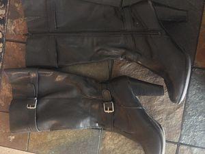 Women black boots size 8 for Sale in Goodyear, AZ
