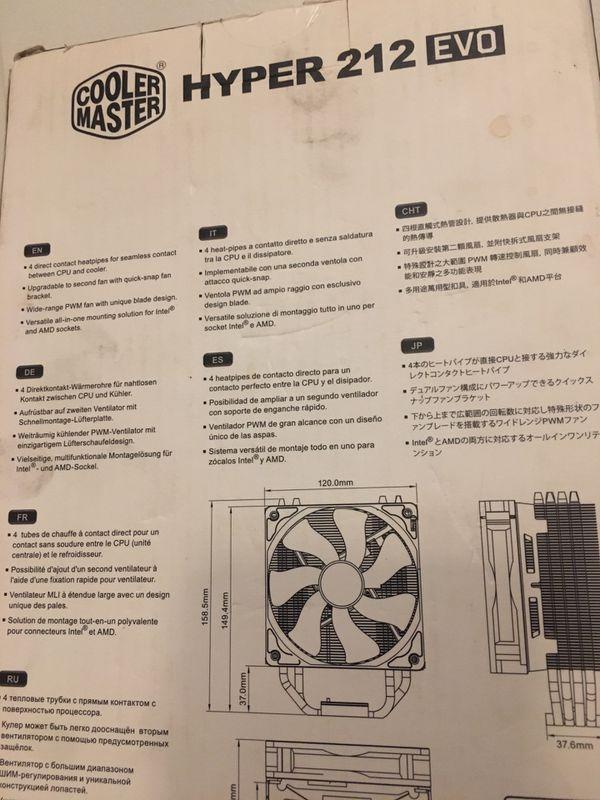 HYPER 212 CPU Fan