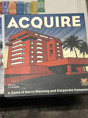 ACQUIRE Board Game for Sale in Roseville, CA