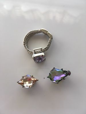 LORIBONN Ring + interchangeable gems for Sale in Los Angeles, CA