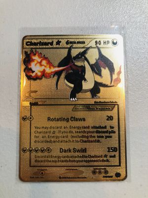 DARK CHARIZARD POKEMON METAL CARD for Sale in Fullerton, CA