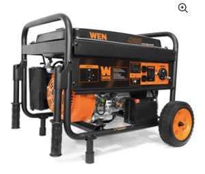 WEN 4750W Portable Generator with Electric Start and Wheel Kit, CARB Compliant for Sale in Mount Laurel Township, NJ