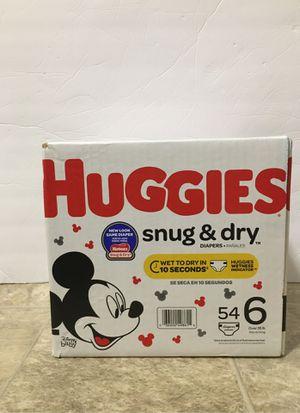 Huggies Sz 6 for Sale in Braintree, MA