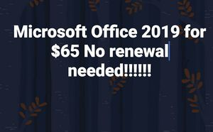 Microsoft Office 2019 for Sale in Columbia, SC