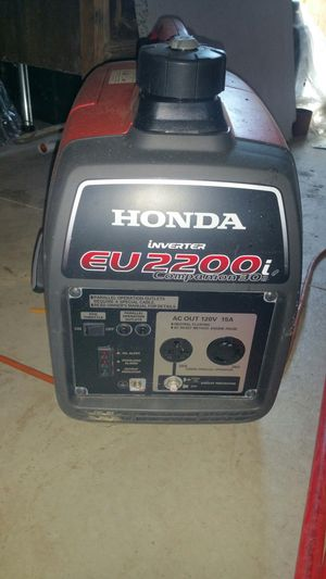 HONDA GENERATOR (INVERTER) 2200i for Sale in Southgate, MI