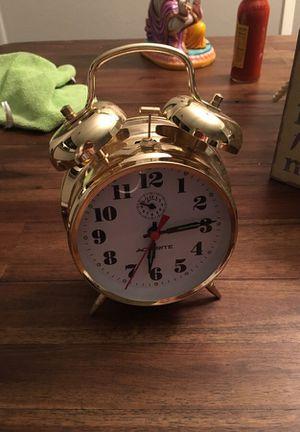 Vintage bell alarm clock for Sale in Austin, TX