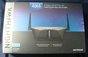 Netgear Nighthawk AX4 4-Stream Ax3000 Wi-Fi 6 Router for Sale in Buffalo Grove, IL
