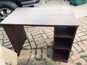 Small desk , sturdy , a bit used. Good for crafts , garage , or studying for Sale in Temple City, CA