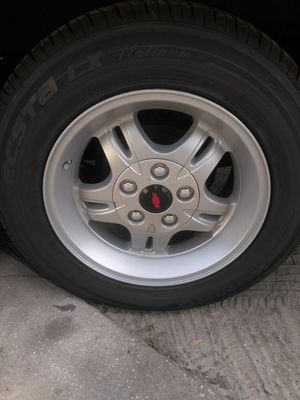 Chevy extreme rims. Trade for 18s or 19s inch rims for Sale in Tampa, FL