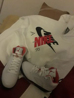 Brand new jordan 5s still in box for Sale in Cleveland, OH
