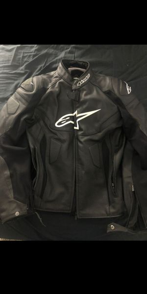 Alpinestars Men's GP Plus R V2 Airflow Leather Motorcycle Jacket size us 46 uk 56 for Sale in Los Angeles, CA