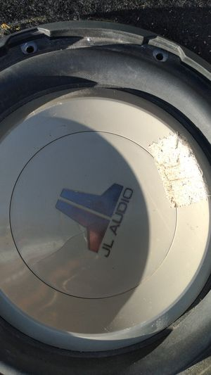 10 inch subwoofer w1 JL audio. $40 for Sale in Henderson, NV