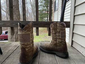 Nice Steel Toe WORK Boots for Sale in Cincinnati, OH