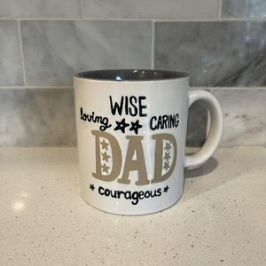 """Ganz """" Wise loving caring Dad courageous coffee mug for Sale in Rancho Cordova, CA"""