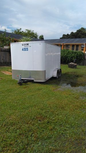 14'x7' enclosed trailer for Sale in Houston, TX