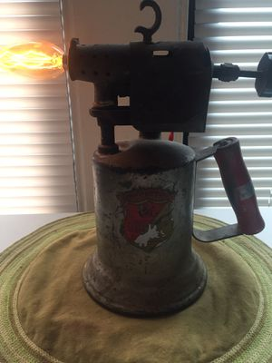 Antique Gasoline Can torch Lamp for Sale in Seattle, WA