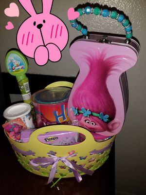 Trolls Easter baskets for Sale in Grand Prairie, TX