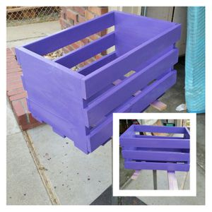 Wood crate for Sale in Stockton, CA