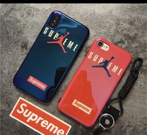 Supreme Jordan iPhone case for iPhone XR for Sale in Littlerock, CA