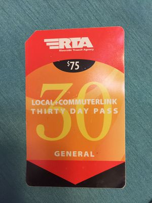 RTA bus pass for Sale in Temecula, CA
