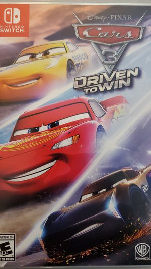 Nintendo Switch Cars 3 Driven to Win for Sale in Santa Ana, CA