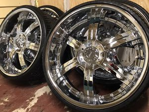 24 inch Veloche Wheels for Sale in Tampa, FL