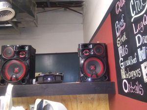 X boom stereo system for Sale in Raleigh, NC