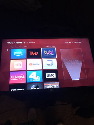 TCL ROKU TV 40inch for Sale in Chamblee, GA