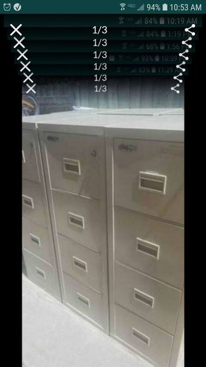 fireking fire cabinet / safe with keys great for money documents ammo guns more 6 remaining $375 each 400lbs + for Sale in Tracy, CA