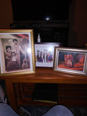 Set of DIY Coco pictures and frame for Sale in Franklin Park, IL