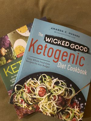 TWO KETO BOOKS for Sale in Torrance, CA