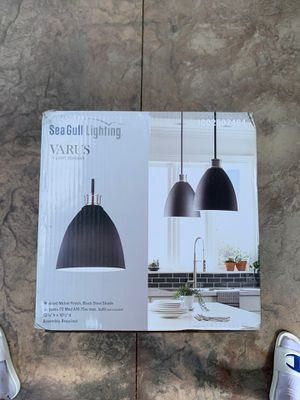 Sea Gull Lighting Varus 1-Light Pendant for Sale in North Royalton, OH
