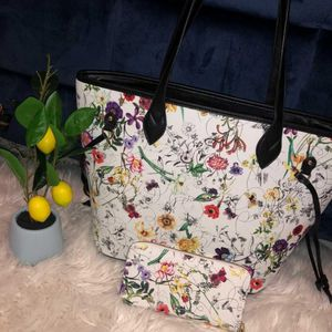 Multi Floral design Tote Set 🌸 for Sale in Orlando, FL