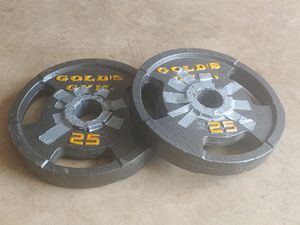 Set of two (2) 25 pound Olympic weight plates for Sale in Lancaster, PA