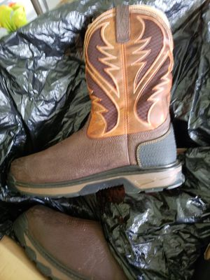 Ariat work boots mens size 14 composite toe for Sale in Spring Hill, FL