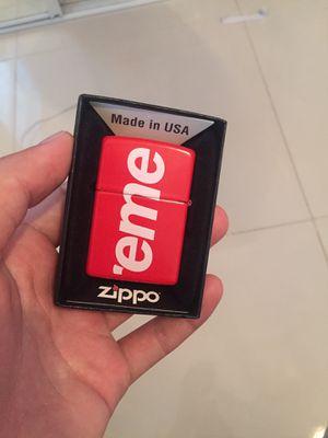 Supreme zippo lighter for Sale in Tampa, FL