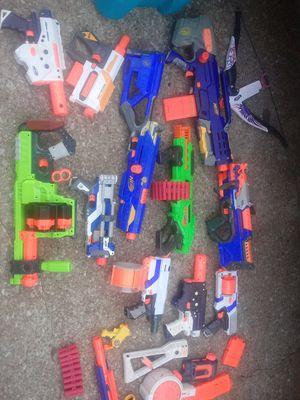 Nerf guns + attachments for Sale in Norman, OK