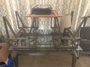 2 end tables and sofa table for Sale in Celebration, FL
