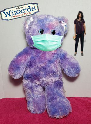 Build a Bear Wizards of Waverly Place Disney Purple Teddy BAB Plush Selena Gomez for Sale in Dale, TX