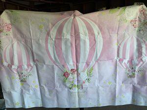 Hot air balloon backdrop for Sale in San Bernardino, CA