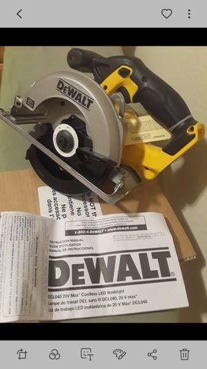 Brand new dewalt 20v circular saw with blade tool only no battery no charger for Sale in Roosevelt, CA