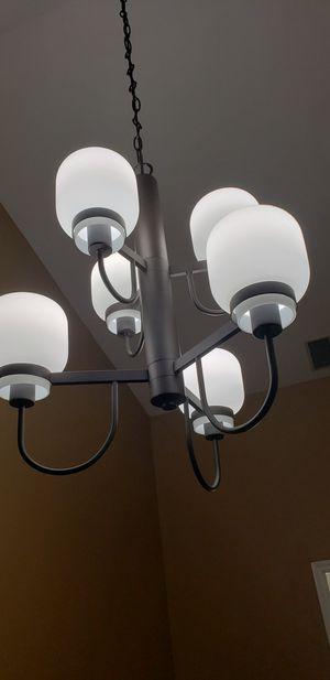 Park harbor 6 light bronze chandelier for Sale in Carol Stream, IL
