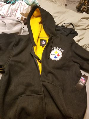 Brand new Steelers zip up jacket for Sale in Pittsburgh, PA