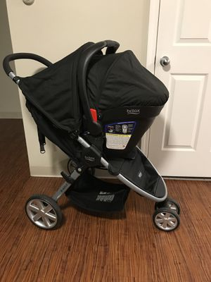 BRITAX STROLLER WITH CARSEAT AND BASE & GRACO SWING for Sale in Boston, MA